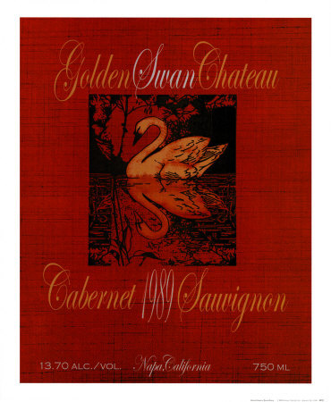 Golden Swan Prints by Ralph Burch