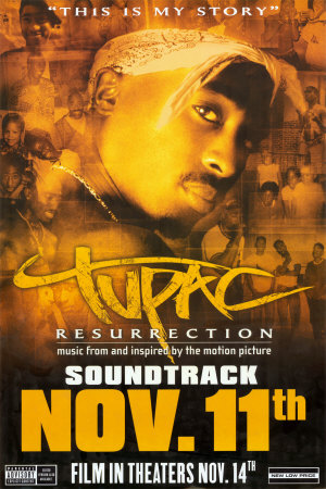 Tupac: Resurrection - Soundtrack Posters