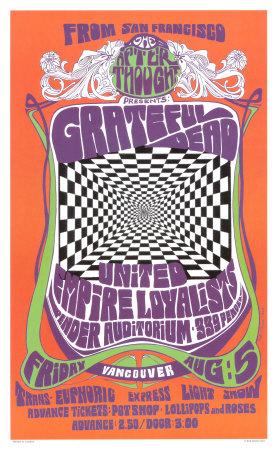 Grateful Dead in Concert, 1966 Prints by Bob Masse