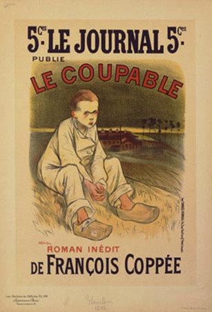 Le Coupable Prints by Théophile Alexandre Steinlen