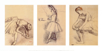 Dancers Posters by Edgar Degas