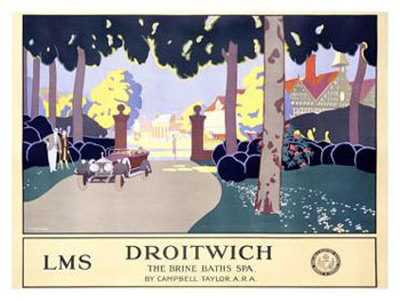 Droitwich Giclee Print by Leonard Campbell Taylor
