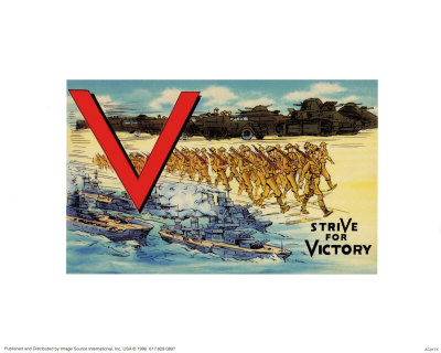 Stride For Victory Prints