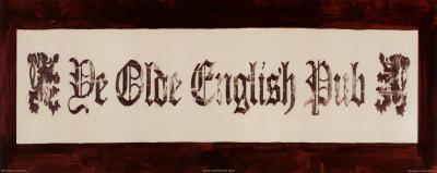 De Olde English Pub Prints by David Marrocco