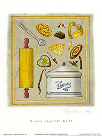Cookies Prints by Karyn Frances Gray