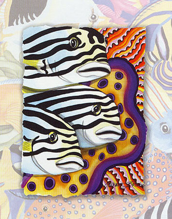 Tropic Fish IV Posters by Nathalie Le Riche