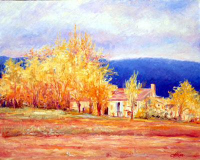 Provence Art by Linda Lee