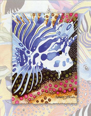 Tropic Fish I Prints by Nathalie Le Riche