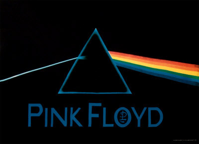 Pink Floyd - Dark Side of The Moon Affiches en tissu