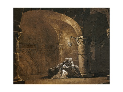 Scene from King Lear Giclee Print by William Shakespeare
