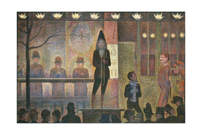Circus Sideshow Giclee Print by Georges Seurat