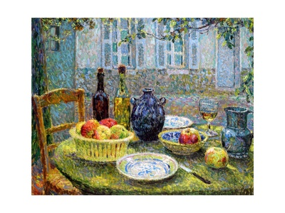 Pierre's Table, 1920 Giclee Print by Henri Eugene Augustin Le Sidaner