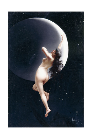 The Moon Nymph, 1883 Giclee Print by Luis Riccardo Falero