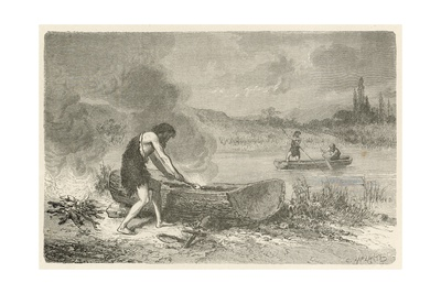 Le Premier Navigateur Giclee Print by Emile Antoine Bayard