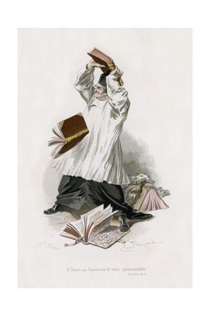 Le Lutrin, Ch V Giclee Print by Emile Antoine Bayard