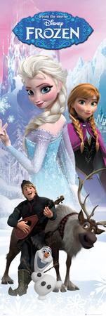 Frozen - Anna & Elsa Affischer
