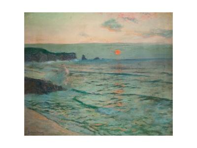 Incoming Tide Giclee Print by Albert Julius Olsson