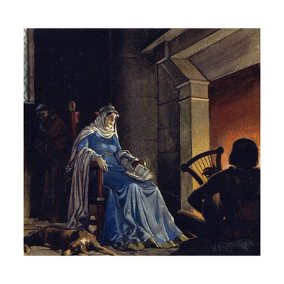 Eleanor Became a Prisoner for 15 Years Giclee Print by Alberto Salinas