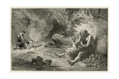 Le Premier Potier Giclee Print by Emile Antoine Bayard