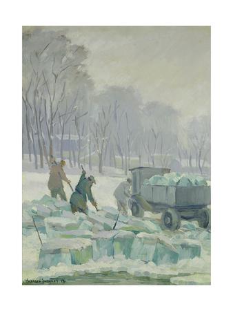 In Central House, Red Army Park, 1937 Giclee Print by Nikolai Grigoryev