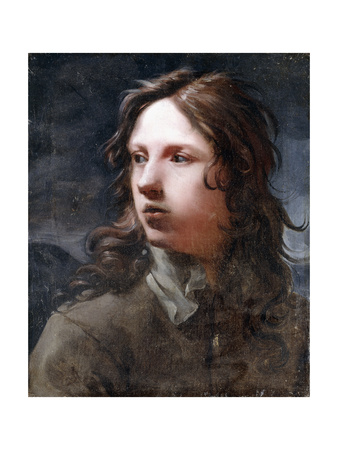 A Young Man, Bust Length, in a Grey Jacket Giclee Print by Michael Sweerts