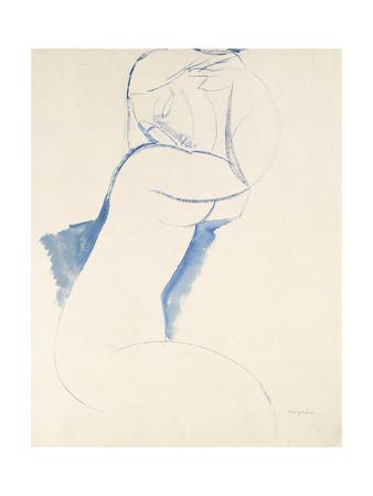 Caryatide, C.1913 Stampa giclée di Amedeo Modigliani