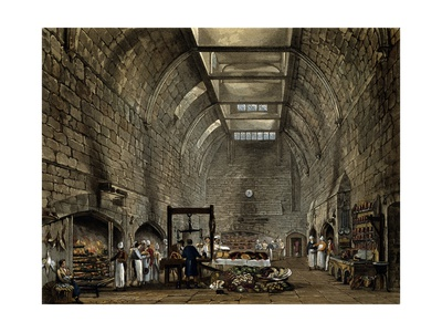 Old Kitchen, 1816-1819 Giclee Print by William Henry Pyne
