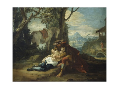 Good Samaritan Giclee Print by Francesco Fontebasso
