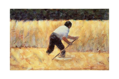 The Reaper, 1883 Giclee Print by Georges Seurat