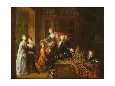 Portrait of Nicolas De Launay Giclee Print by Robert Tournieres
