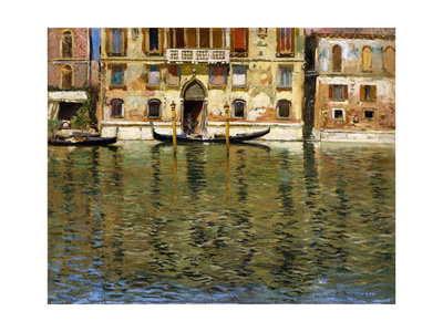 The Grand Canal, Venice Giclee Print by Carlo Brancaccio