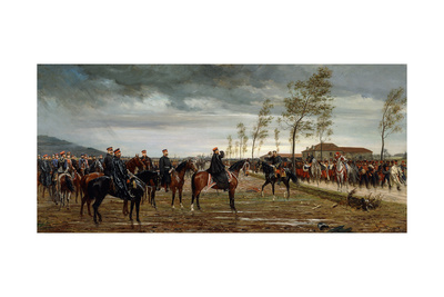 The Surrender of Metz, 1876 Giclee Print by Conrad Freyberg