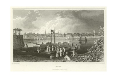 Bonn Giclee Print by William Tombleson