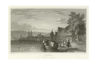 Boppart Giclee Print by William Tombleson