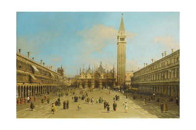 The Piazza San Marco, Venice, Looking East Giclee Print
