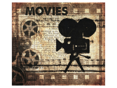 Movies Prints by Irena Orlov