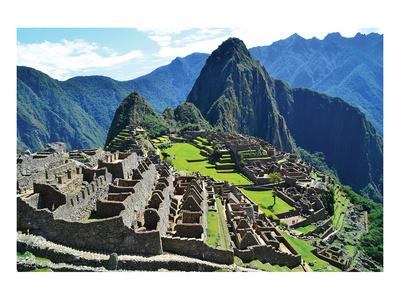 Machu Picchu - Scenic View Prints