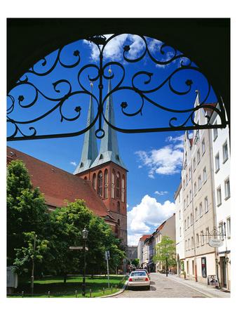 Nikolai Church at the Nikolai quarter, Berlin, Germany Posters