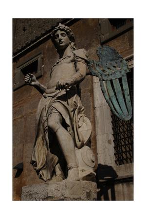 Archangel Michael, 1544 Giclee Print by Raffaello da Montelupo