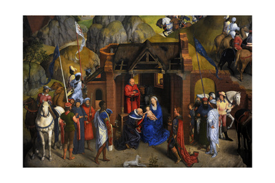 The Seven Joys of the Virgin, 1480 Giclee Print by Hans Memling