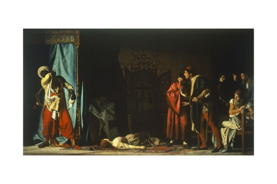 Death of Othello, Scene from Otello Giclee Print by William Shakespeare
