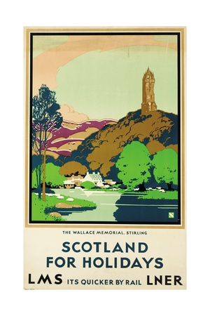 Scotland for Holidays, Poster Advertising British Railways Giclée-Druck
