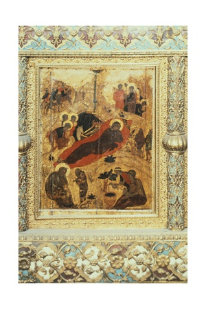 The Birth of Christ, 1405 Giclee Print by Andrei Rublev
