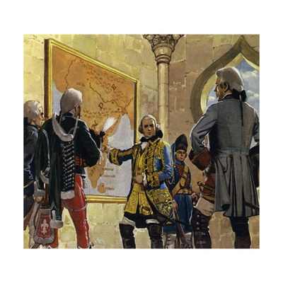 Clive Worked for the East India Company in Madras, India Giclee Print by Alberto Salinas
