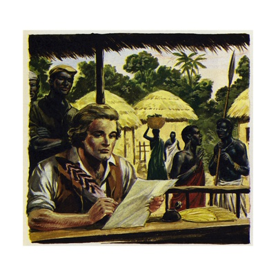 Mungo Park Trained as a Doctor and Worked in Sumatra Giclee Print by Alberto Salinas