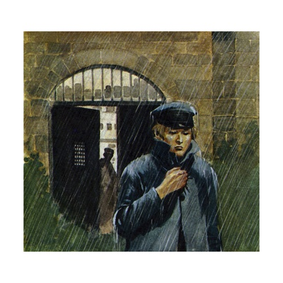 Dickens Was Allowed to Visit His Parents in Debtor's Prison on Sundays Giclee Print by Alberto Salinas
