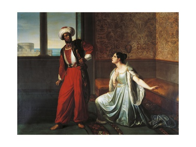 Othello and Desdemona, Scene from Otello Giclee Print by William Shakespeare