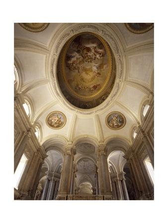 Vault of the Staircase of Honor Giclee Print by Luigi Vanvitelli