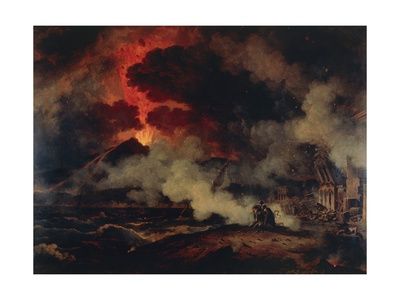 Eruption of Vesuvius Giclee Print by Pierre Henri de Valenciennes