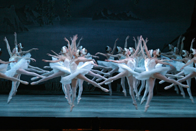 Tchaikovsky's Swan Lake, Mariinsky Theatre, St. Petersburg, 2004 Photographic Print